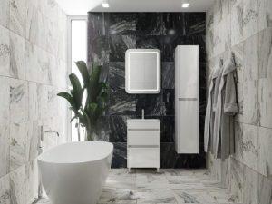 Elemes fürdőszoba bútorok