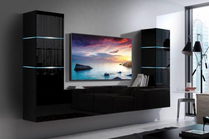 kedvencbutor.hu-concept 57 magasfényű fekete kisebb