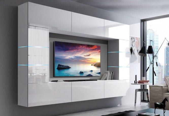 kedvencbutor.hu-concept 61 magasfényű fehér