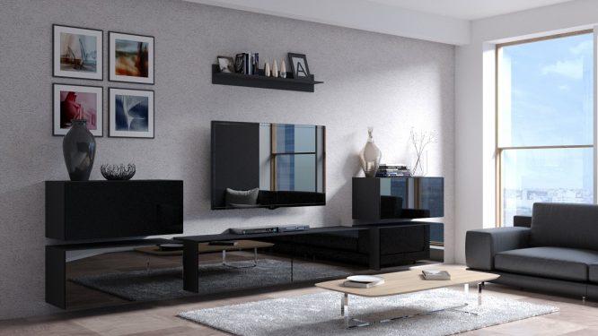 kedvencbutor.hu-concept 78 magasfényű fekete