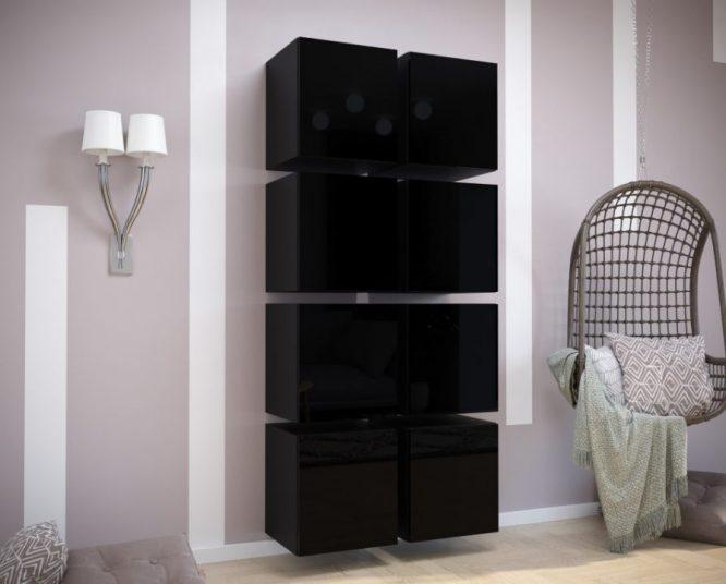 kedvencbutor.hu-exclusive 10 magasfényű fekete