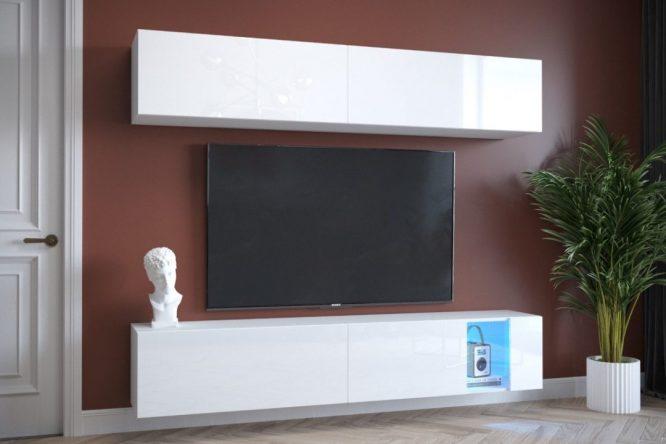 kedvencbutor.hu-exclusive 4 magasfényű fehér