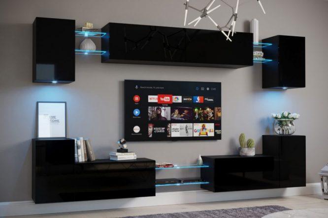kedvencbutor.hu-exclusive nairobi magasfényű fekete