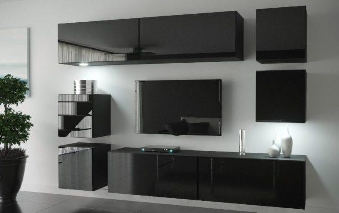 kedvencbutor.hu-next 65 magasfényű fekete