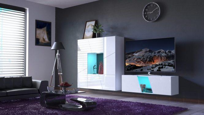 kedvencbutor.hu-slopeskandi 43 magasfényű fehér