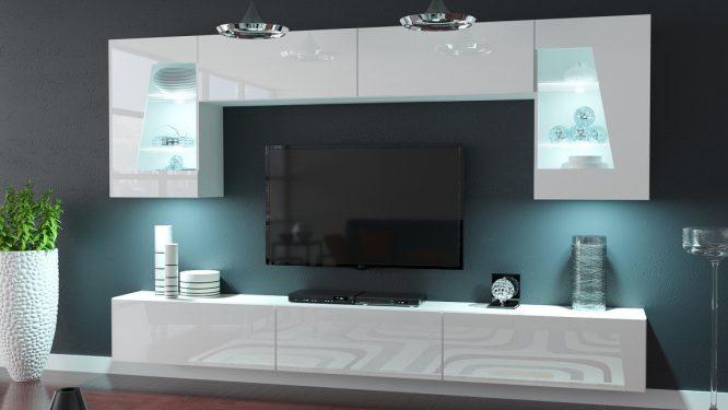 kedvencbutor.hu-slopeskandi 55 magasfényű fehér felszerelt