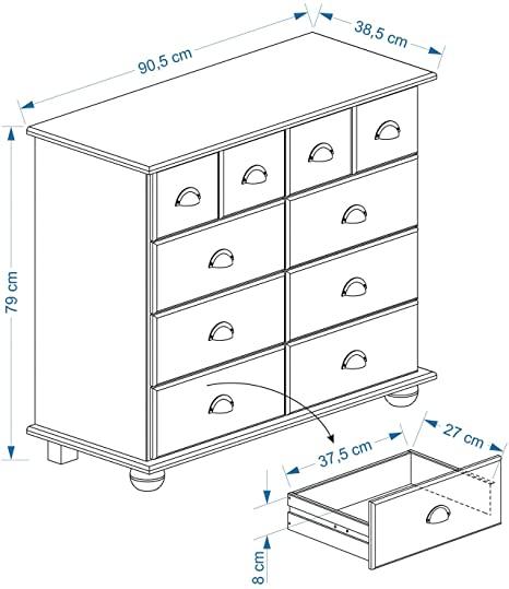 kedvencbutor.hu Colmar szekrény méretek 8402